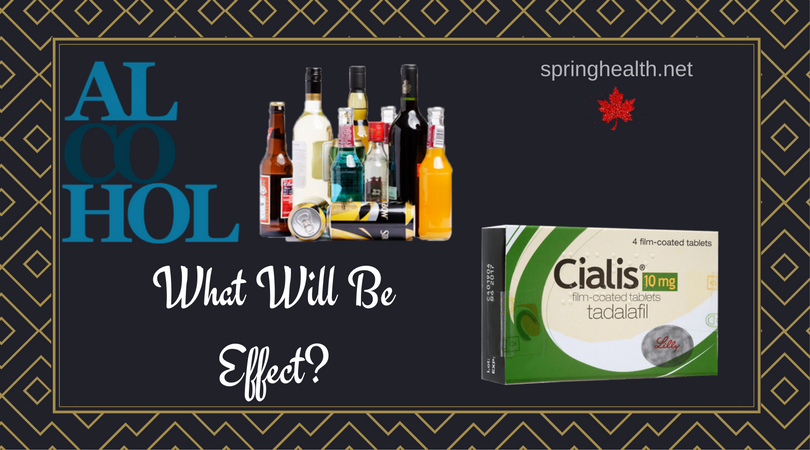 Cialis And Alcohol Interactions
